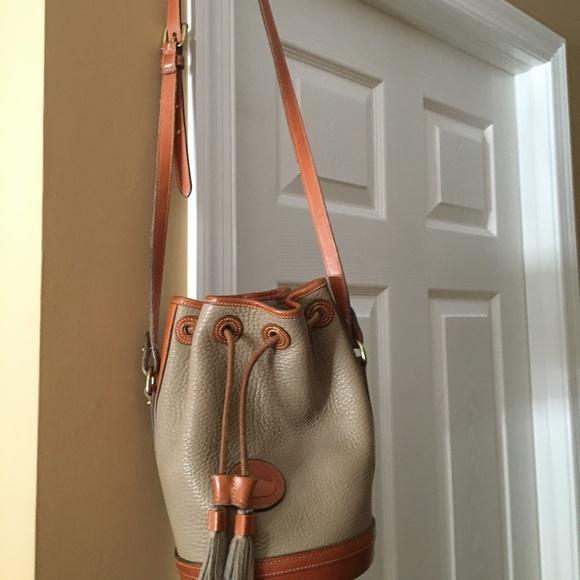 Dooney & Bourke Handbags - Vintage Dooney and Bourke Bucket Bag